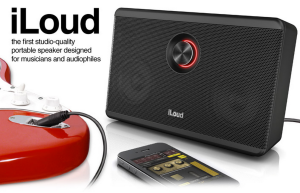 IK Multimedia iLoud, 40 Watt Bluetooth speaker, amplifier.