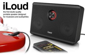 IK Multimedia iLoud, 40 Watt Bluetooth speaker, amplifier.